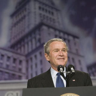 Remarks from President George W. Bush