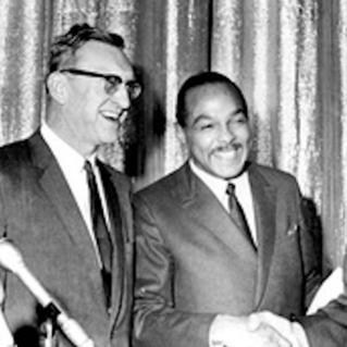 Mayor Carl B. Stokes and Judge Ralph S. Locher